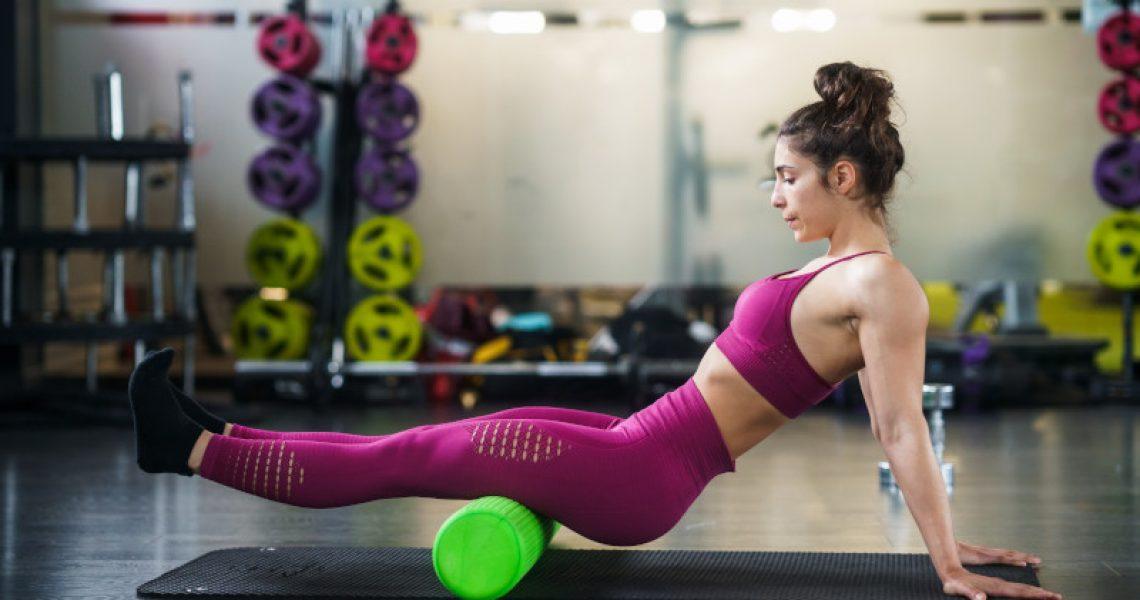 Pilates Rolle für Anfänger